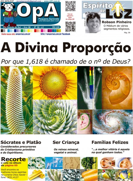 Capa do jornal O Pequeno Aprendiz Edição Especial de Fevereiro V2 do Jornal Aprendiz
