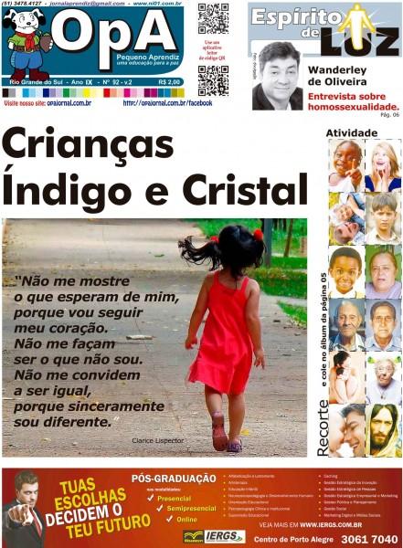 Capa do jornal O Pequeno Aprendiz Edição Especial de Fevereiro V2.1 do Jornal Aprendiz